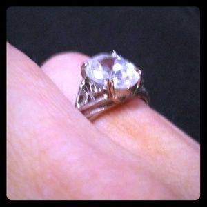 3 Karat Genuine Swarovski Ring